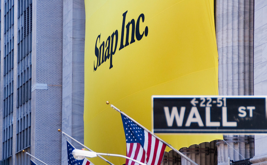 Snap Shares Dip Below IPO Price, Selloff Expected