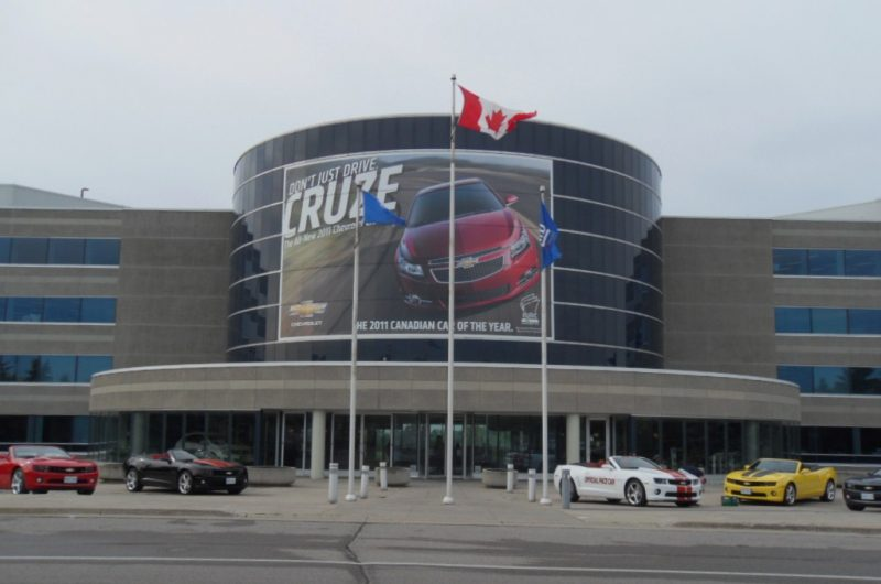 Strike begins at GM manufacturing plant in Canada
