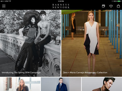 Barneys Launches New iPad App – for all you shopaholics!