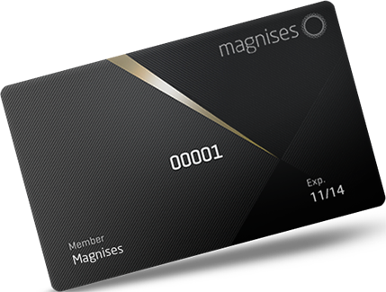 Magnises! The new exclusive members-only perks card you've been waiting for!