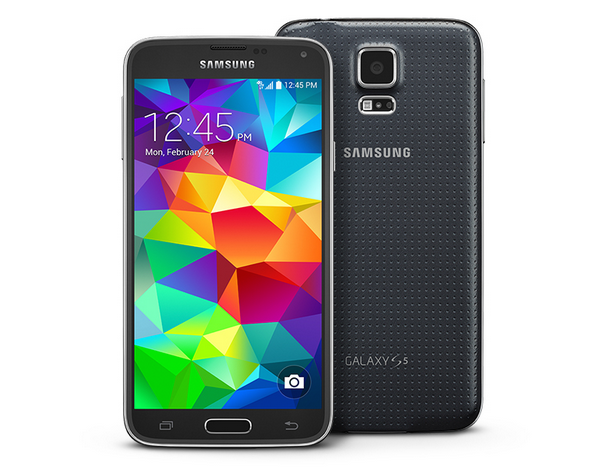 The New Samsung's Galaxy S5 Smartphone