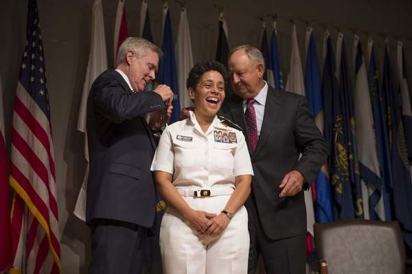 U.S. Navy Promotes First Female 4-Star Admiral