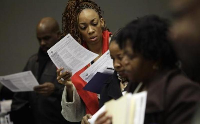 Unemployment Claims Drop to Eight-Year Low