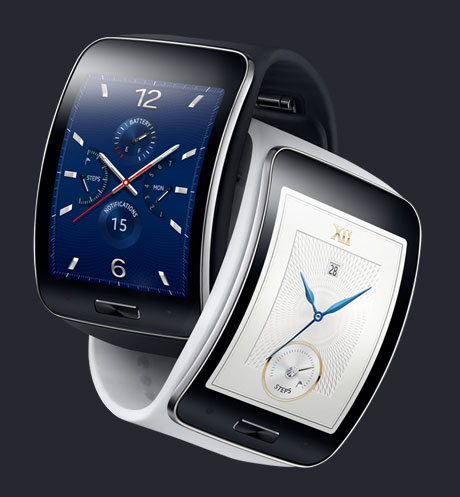 Never worry about leaving your phone behind with the Samsung Gear S which will do everything your phone can do without even having it on you.
