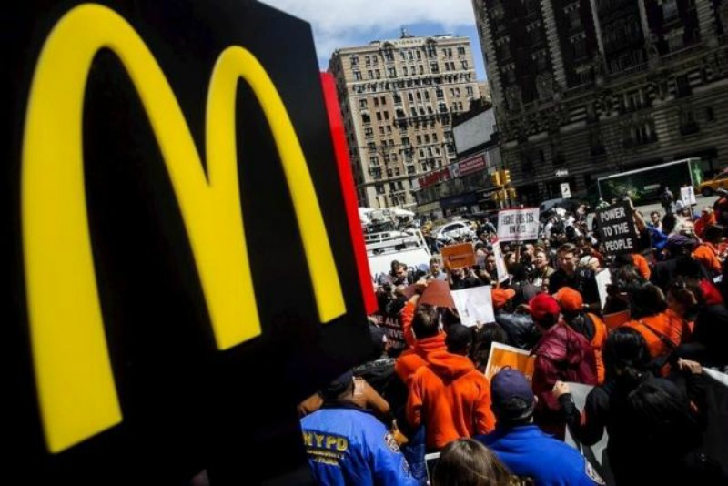 McDonald's Employees Still Angry About Their Wages