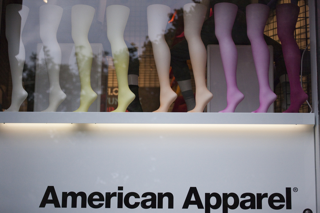 American Apparel is Undergoing Closures and Layoffs