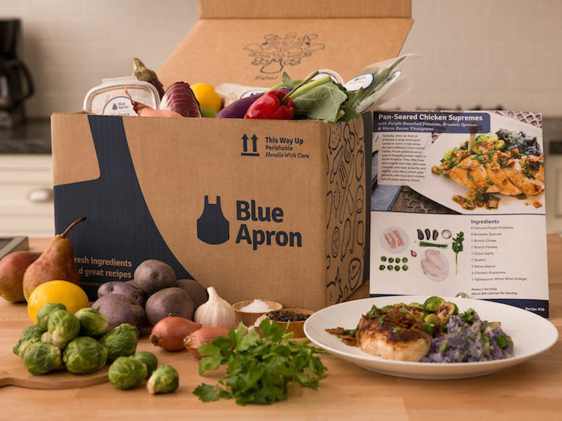 Blue Apron Goes Public With an IPO of $10/share