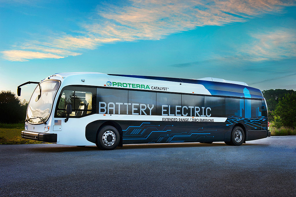 Proterra bus sets range record for electric vehicles