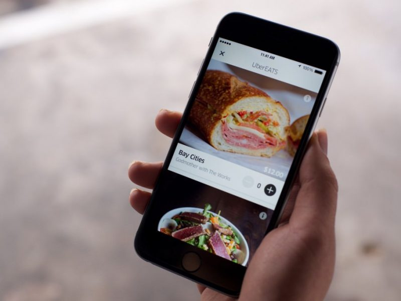"Uber's success in food delivery sector is a ""wonderful surprise,"" CEO says"