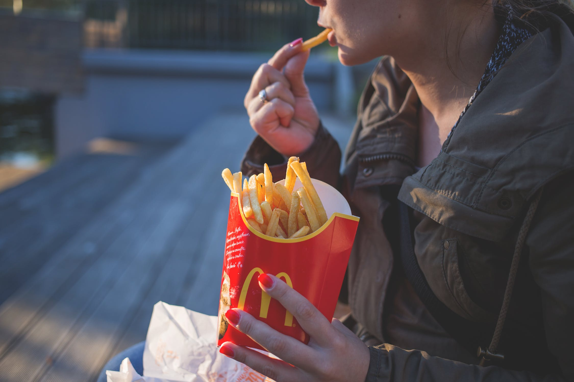 Delicious McDonald's french fries delivered by DoorDash