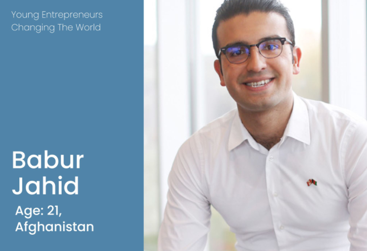 Babur Jahid- young entrepreneur- Image from facebook